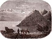 Lake Baikal, 19th century