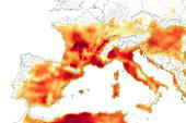 July 2019 European heat wave, GEOS model