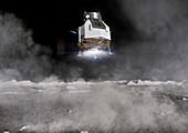 HERACLES robotic sample return lunar mission, illustration