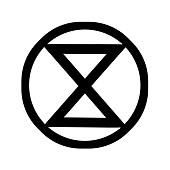 Extinction Rebellion (XR) logo