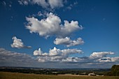 Cumulus and stratocumulus clouds over Berkshire