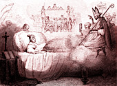 Dream of Charles X and July Revolution, 1830s satire