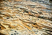 Kern River Oil Field, aerial photograph