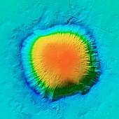 Barringer Crater, LiDAR image