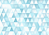 Abstract triangle pattern, illustration