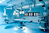 Modern hospital operating theatre