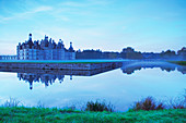 Chateau de Chambord, France, at dawn