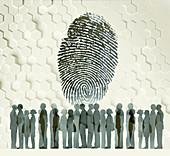 Identity,illustration