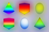 Geometric shapes,illustration