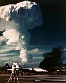 Dominic 'Arkansas' atom bomb test,1962
