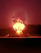Teapot 'Zucchini' atom bomb test,1953