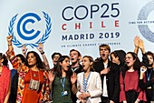 Fridays For Future protest at COP25, Madrid, Spain, 2019