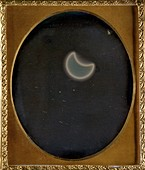 First solar eclipse to be photographed,26 May 1854