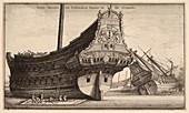 Dutch East Indiaman ship,17th century