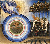Creation and the Expulsion from Paradise,15th century
