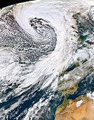 Storm Brendan,January 2020