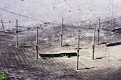 Arecibo Observatory antennas