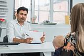 ENT paediatric consultation