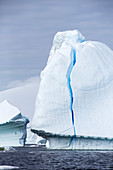 Icebergs in the Lemaire Channel,Antarctica