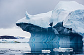 Icebergs in the Weddell Sea,Antarctica