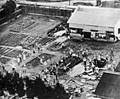 Prisoner-of-war camp,Tokyo,1945