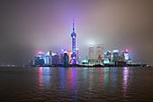 Shanghai during coronavirus outbreak,January 2020