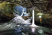 Monlesi ice cave,Switzerland