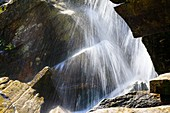 Waterfall,Verzasca Valley,Switzerland