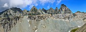 Major Alpine overthrust in the Alps