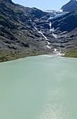 Recession of Triftgletscher glacier