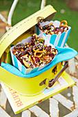 Picknickkoffer mit Knabberzeug