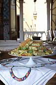 Polpettone di fagiolini (Grüne Bohnen-Kartoffel-Auflauf, Italien)
