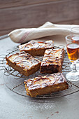Pfirsich-Amaretti-Kuchen