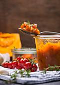 Vegan pumpkin chutney