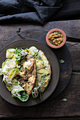Zucchini-Haselnuss-Frittata