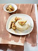 Kokos-Reispudding mit Honig-Feigen