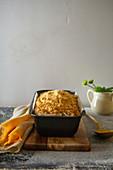 Kaffee-Streusel-Kuchen in Kastenform