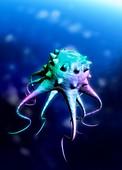 Alien lifeform,illustration