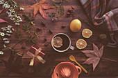 Rosehip herbal tea