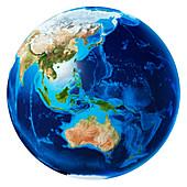 Oceania,illustration