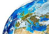 Europe,illustration