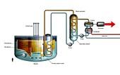 Sodium-cooled fast reactor, diagram