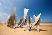 Les Braves sculpture, Omaha Beach, France