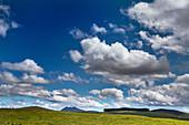 Cumulus and stratocumulus clouds in New Zealand