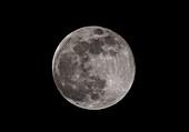 Full Moon supermoon, 19 Feb 2019
