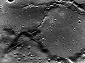 Lunar surface, Apollo 17 image