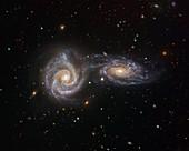 Interacting galaxies NGC 5426 and NGC 5427, VIMOS image