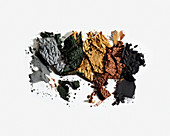 Crushed eye shadow palettes