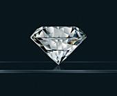 Brilliant cut diamond gemstone