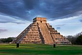 Mayan Pyramid, Chichen Itza, Mexico
